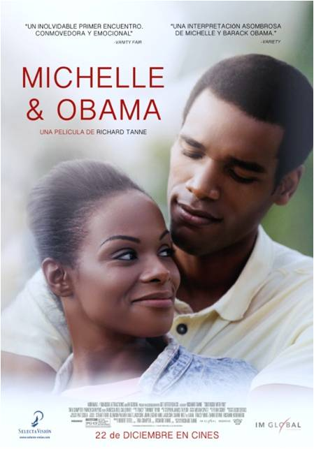 Poster MICHELLE y OBAMA
