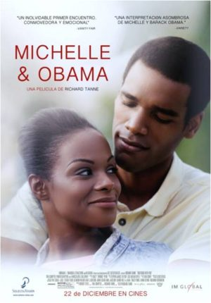 Cartel de Michelle y Obama