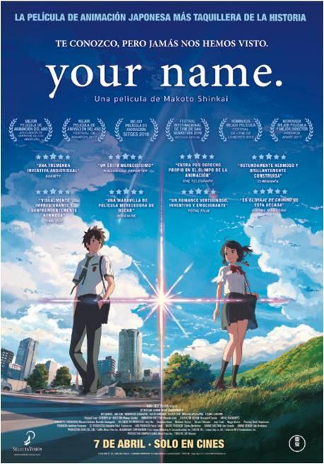 Poster de Your Name.