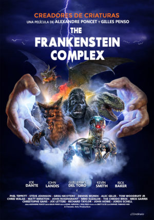 Cartel de The frankenstein complex