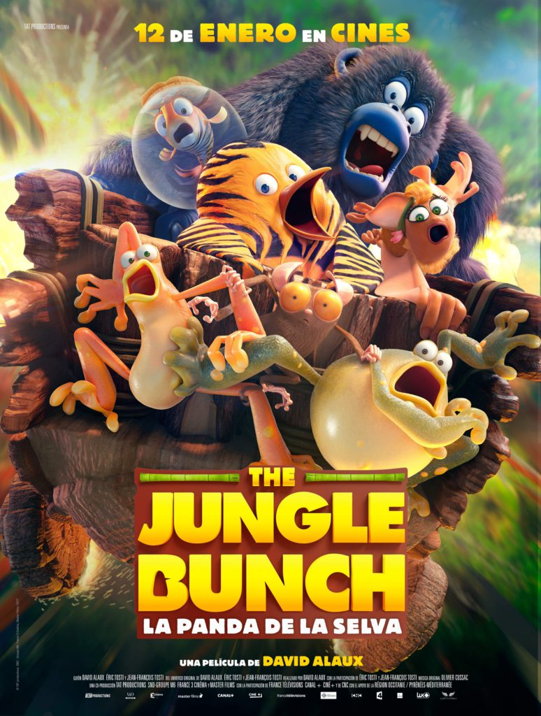 Poster de The Jungle Bunch