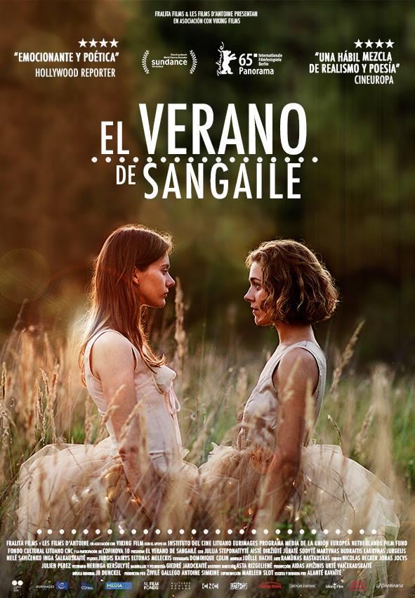 Cartel de EL VERANO DE SANGAILÉ